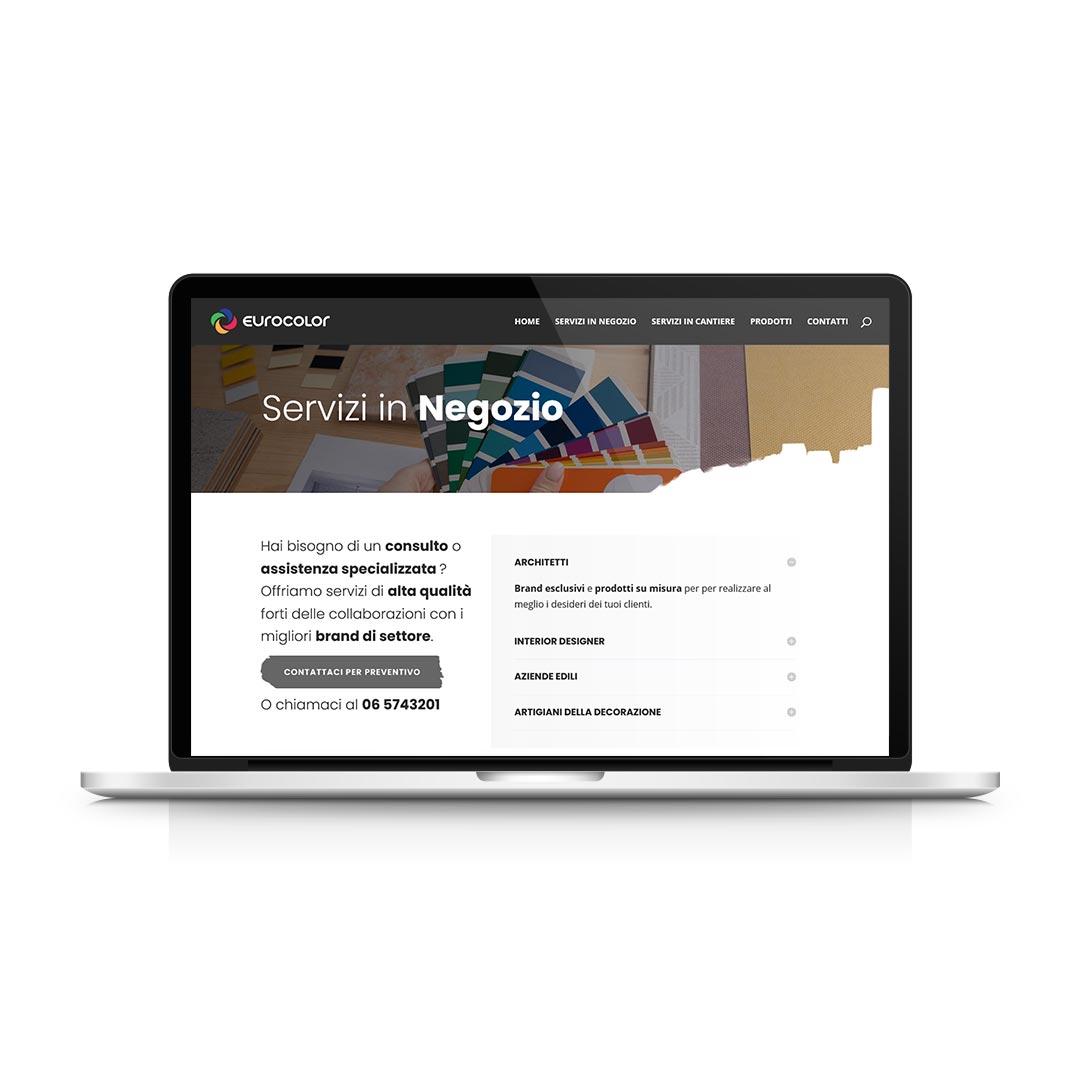 Progetti WEB - Eurocolor