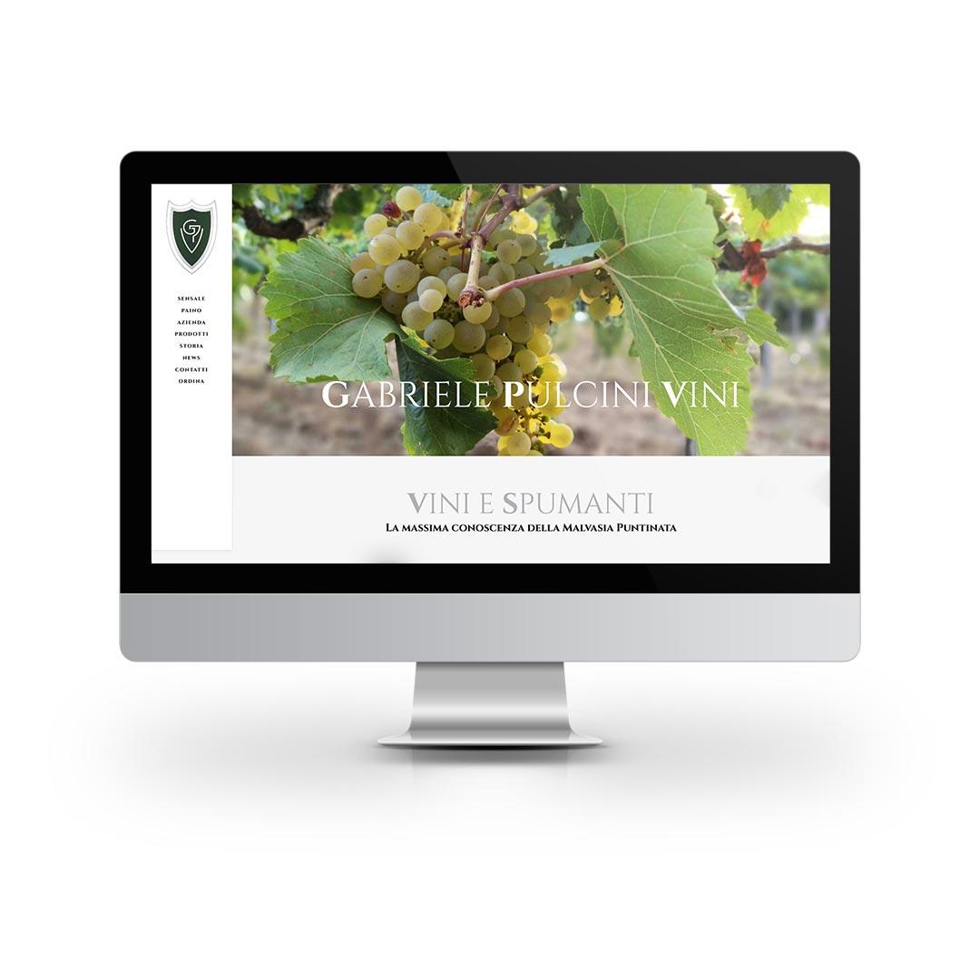 Progetti WEB - Gabriele Pulcini Vini