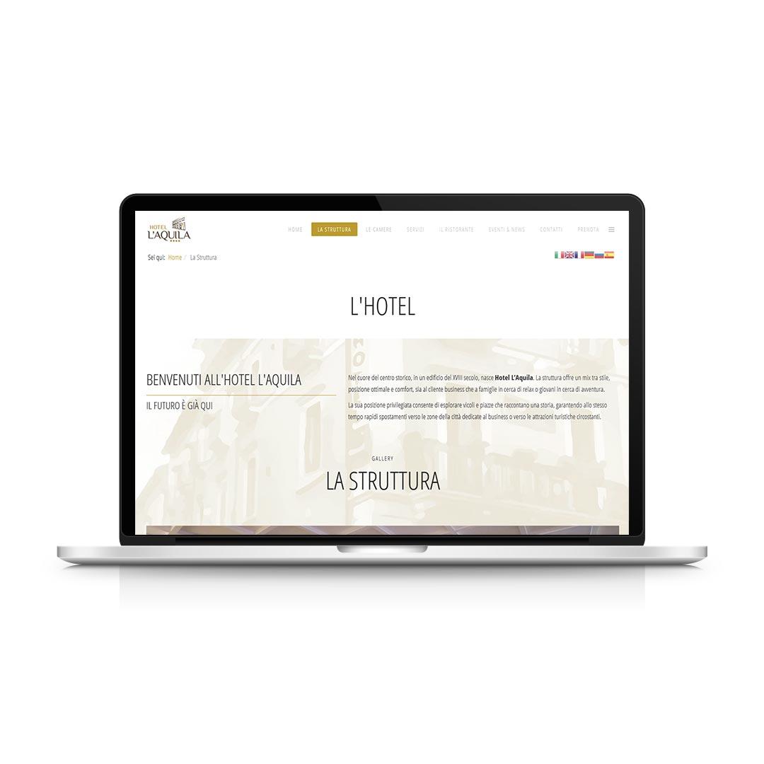 Progetti WEB - Hotel L'Aquila