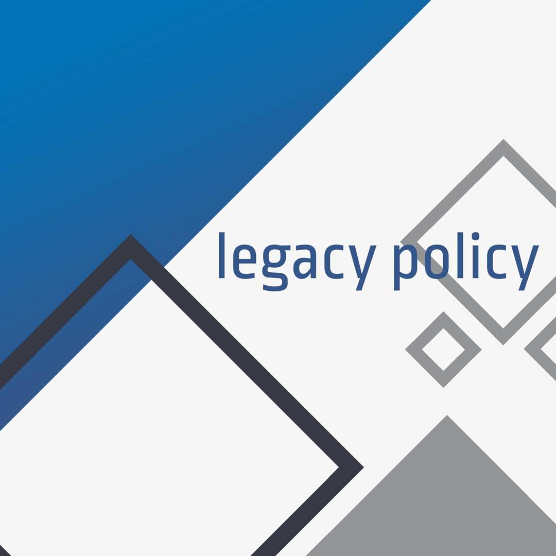 Servizi WEB - Legacy Policy