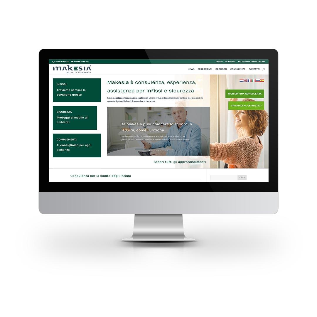 Progetti WEB - Makesia