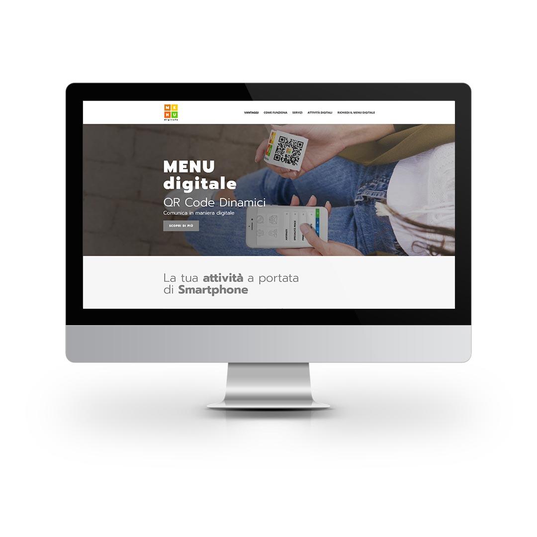 Progetti WEB - MENU digitale