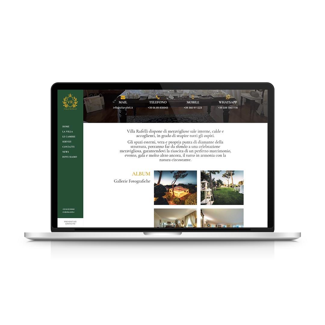 Progetti WEB - Villa Rufelli
